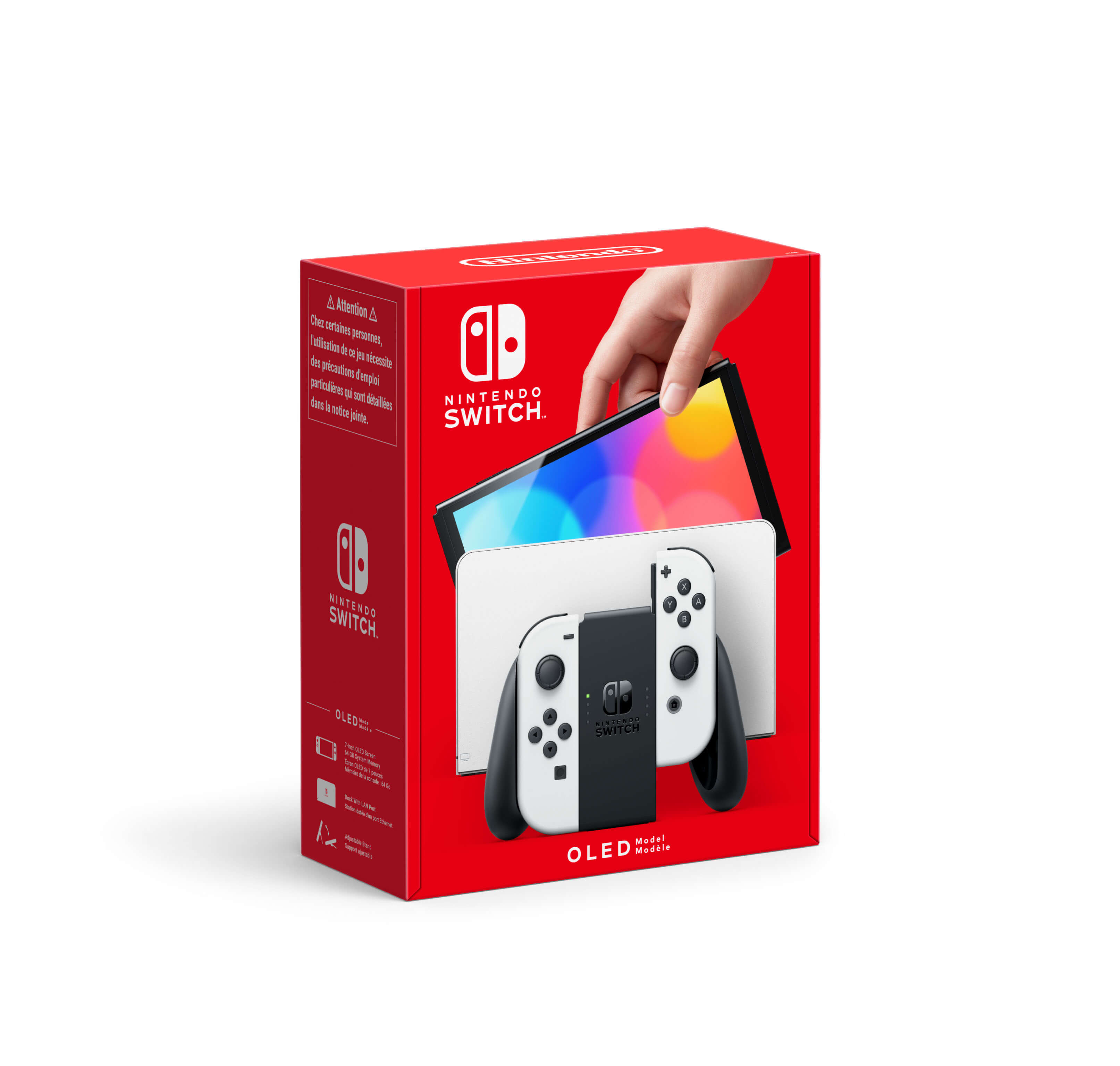 Nintendo Switch OLED Blanche