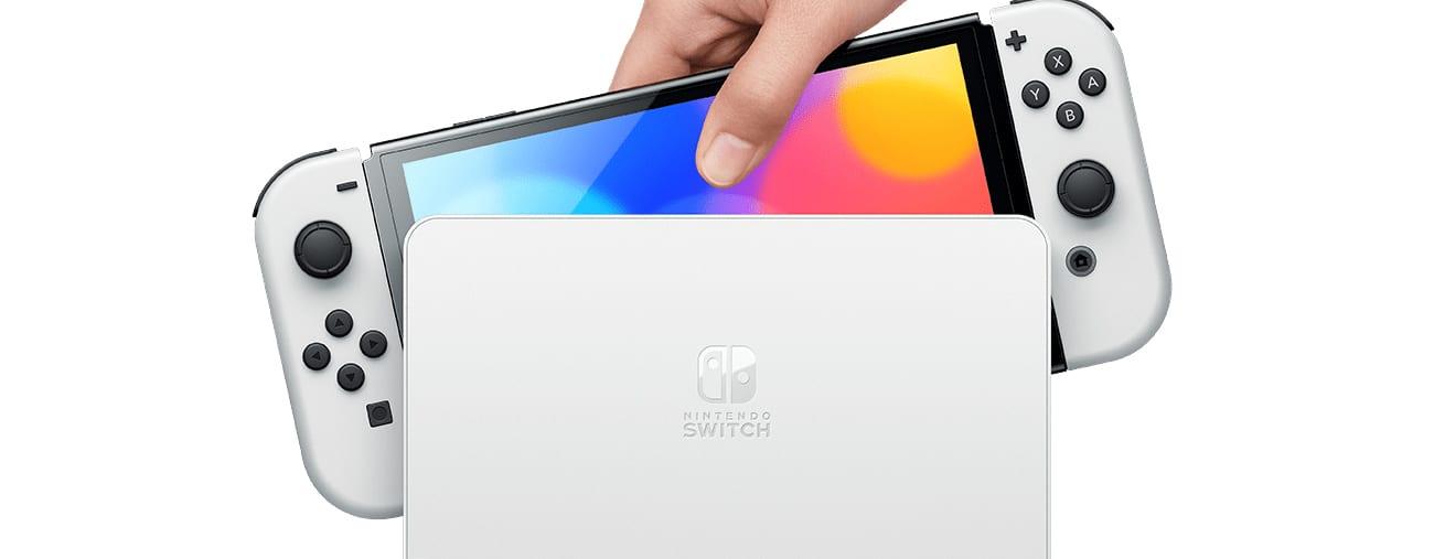 La Nintendo Switch OLED annoncée officiellement