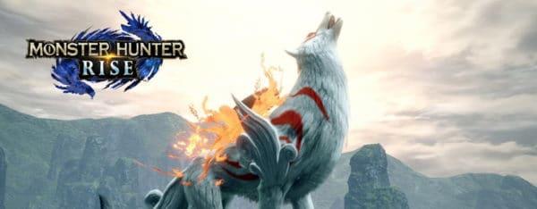 Okami s'invite dans Monster Hunter Rise dès le 30 juillet