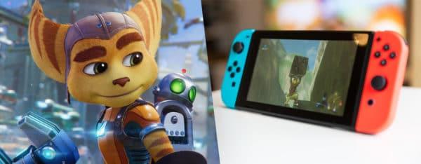 Ventes de jeux et de consoles aux États-Unis en juin Ratchet et Switch