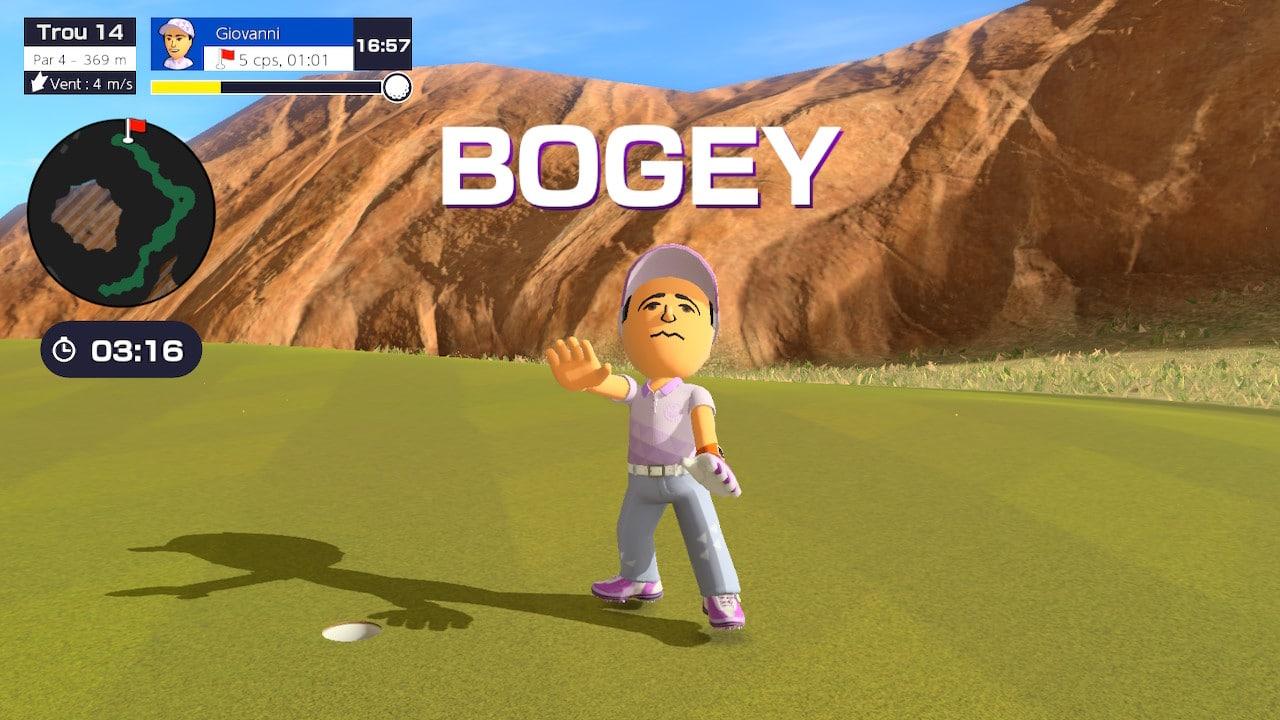 mario golf: super rush test 5