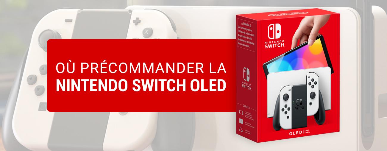 Précommandez la Nintendo Switch OLED