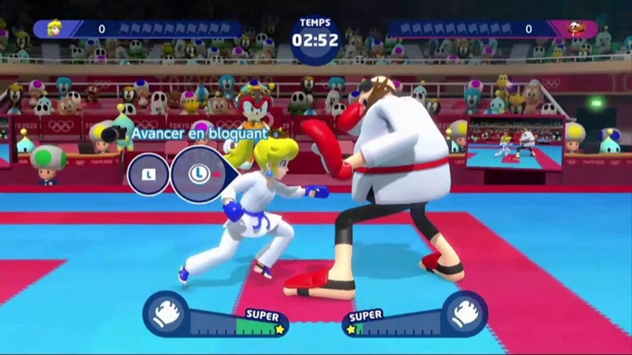 mario et sonic aux jeux olympiques 2020 switch