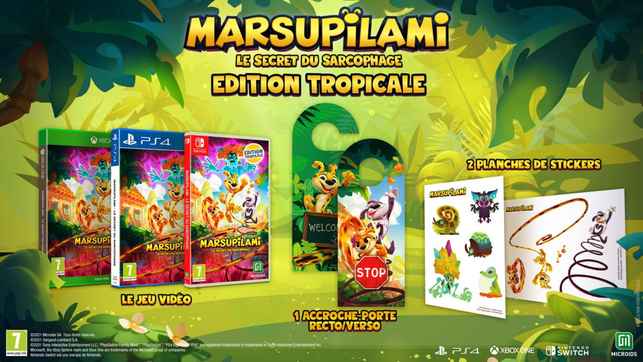 Marsupilami : Le Secret du Sarcophage Edition Tropicale