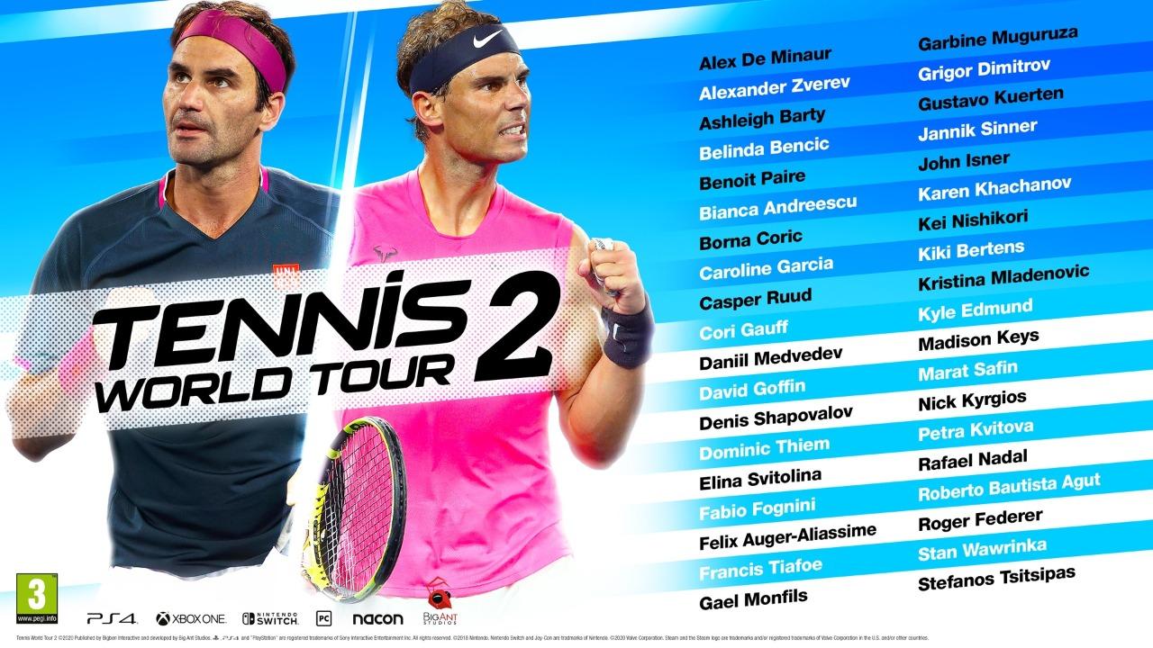 jeux de sport tennis world tour 2