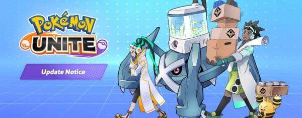 pokémon unite mise à jour équilibrage