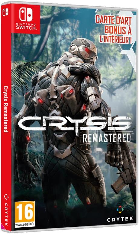 Boxart Crysis Remaster Nintendo Switch