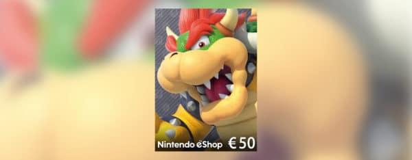 Eneba code eshop 50 euros