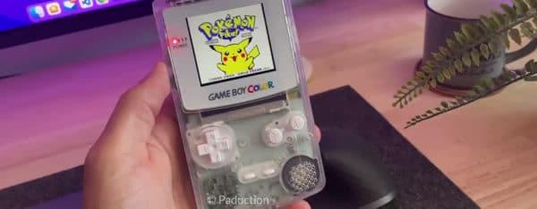 Il ajoute un port Type-C et une charge sans fil à sa GameBoy Color - FUN
