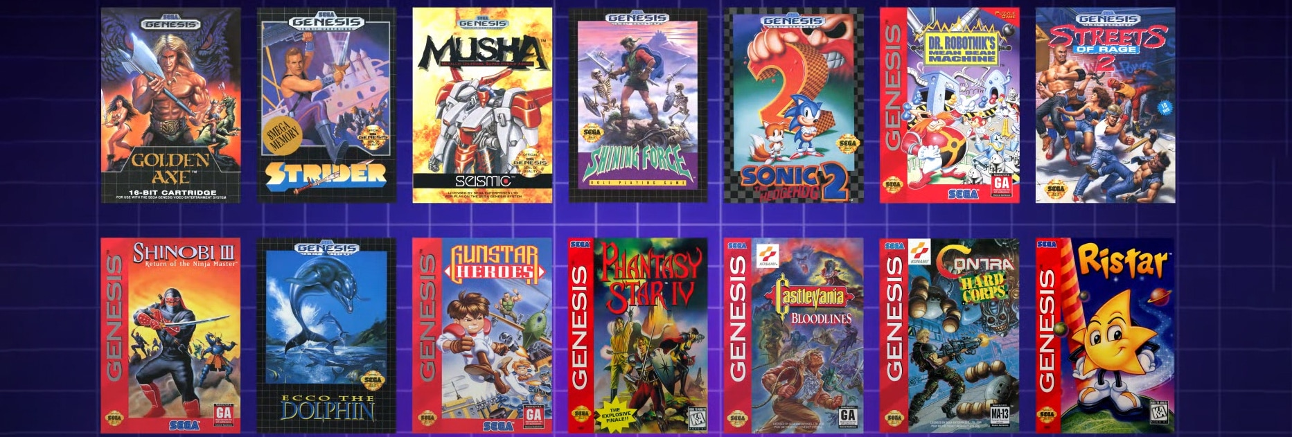 Jeux Mega Drive Nintendo Switch Online