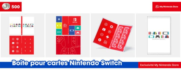 My Nintendo Store – Une boite de rangement de cartouches Switch offerte