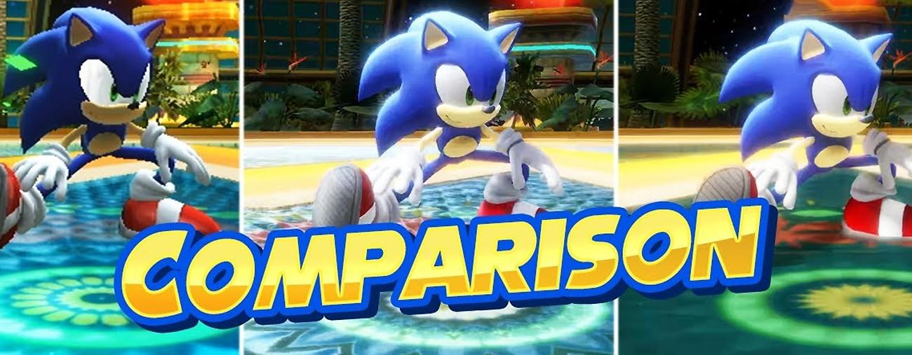 Sonic Colours: Ultimate - Une comparaison Wii vs. Switch vs. PS4 - VIDEO