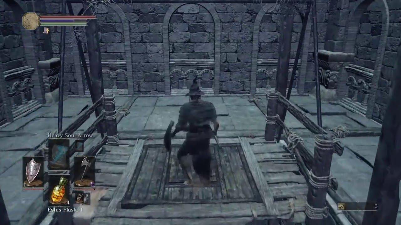 dark souls ascenseur