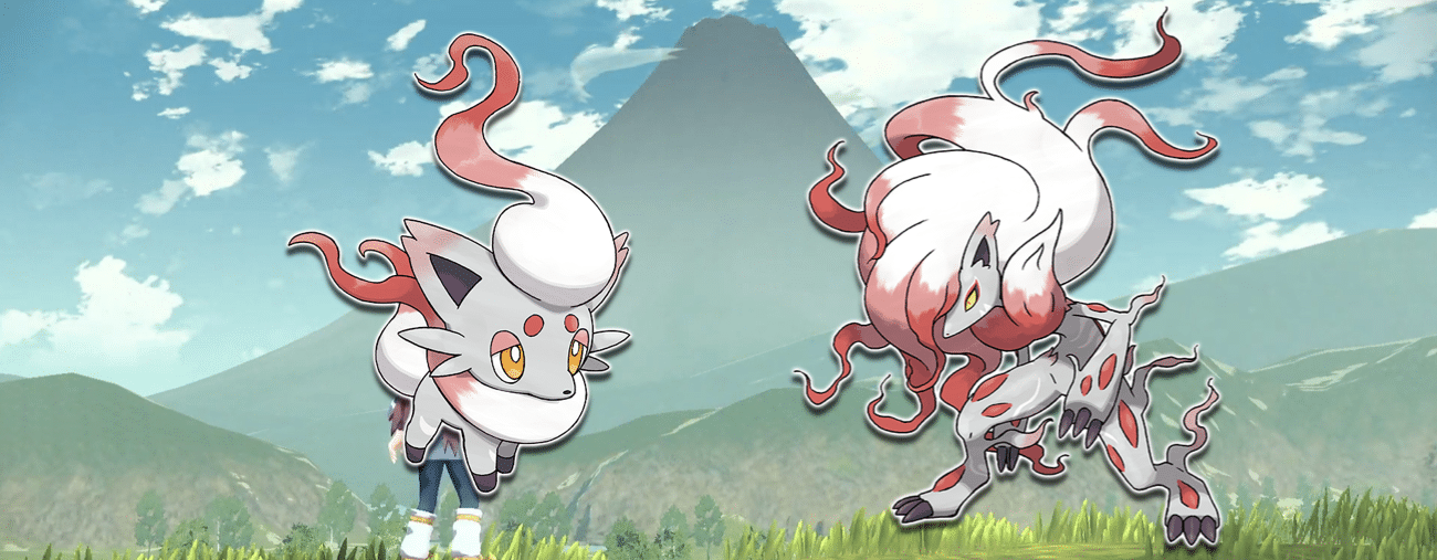 Légendes Pokémon : Arceus Zorua et Zoroark d'Hisui.001
