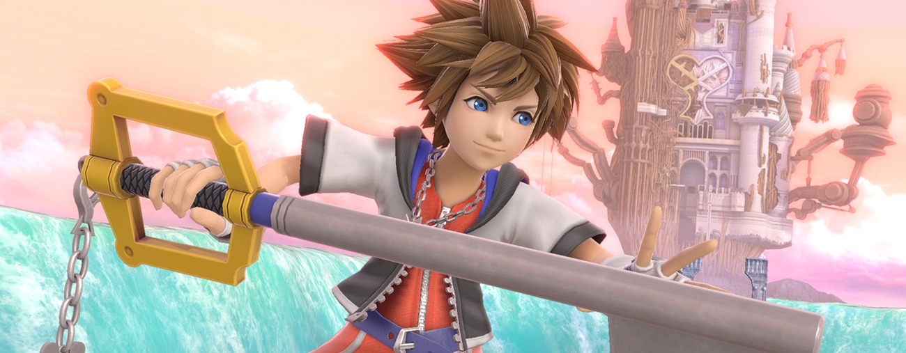 Sora de Kingdom Hearts bientôt dans le roster de Smash Bros Ultimate