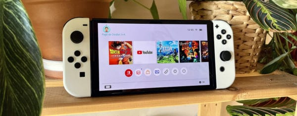 Test de la Nintendo Switch OLED