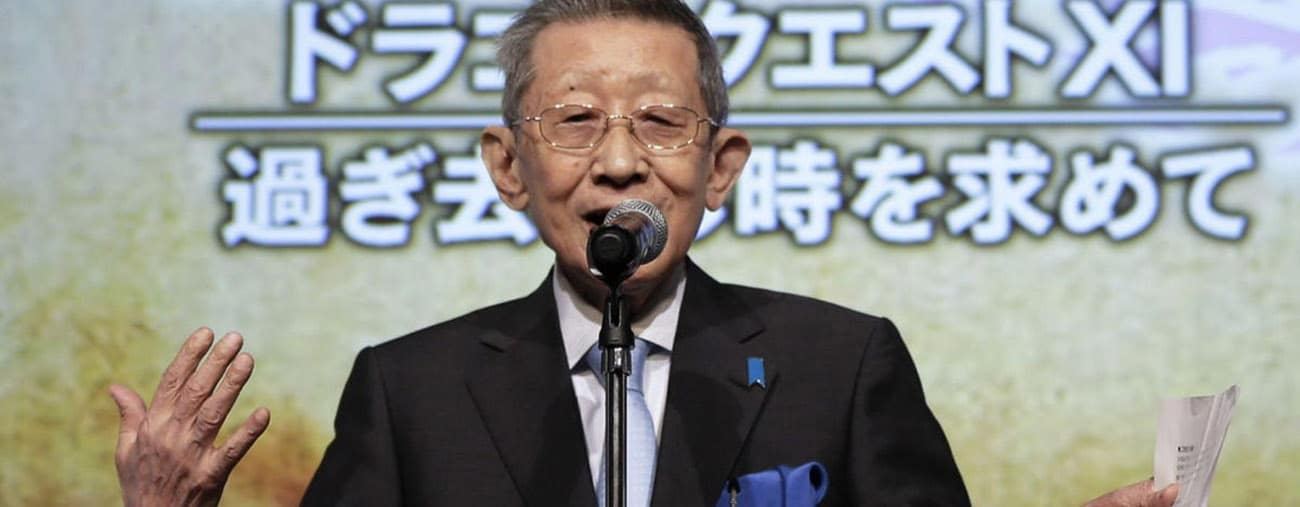 koichi sugiyama dragon quest mort