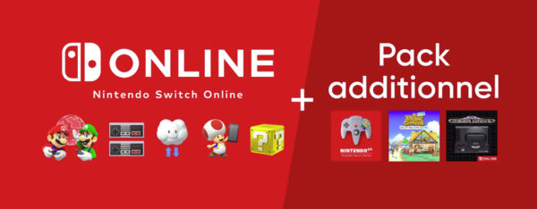 nintendo switch online plus pack additionnel date de sortie prix
